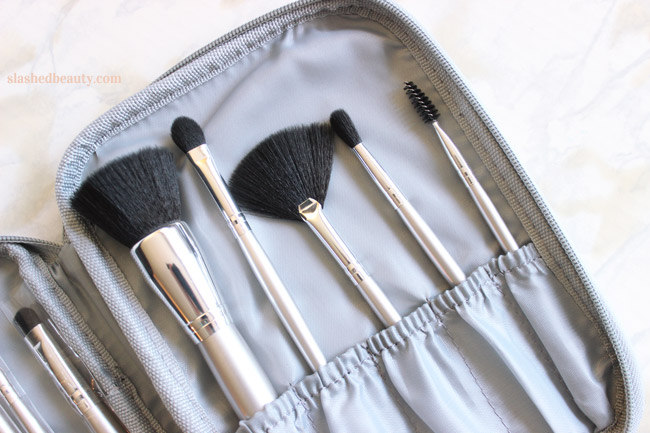 e.l.f. just released a ton of new affordable makeup brushes. Click through to see which ones you need ASAP! This is the new 11 Piece Brush Set.