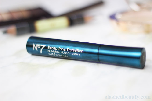 Check out how amazing the Boots No7 Exceptional Definition Mascara makes my lashes look!