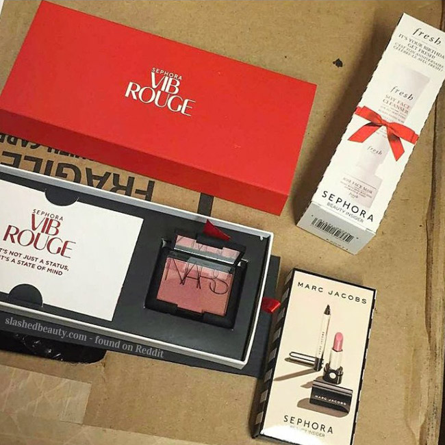 The 2016 Sephora Birthday Gift Reveal