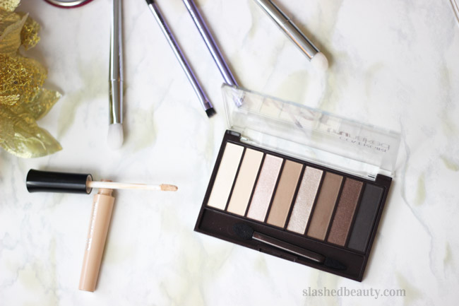 These ride or die favorite eyeshadow palettes-- like Covergirl truNaked Nudes-- are versatile, affordable and will become staples in your routine! | Slashed Beauty