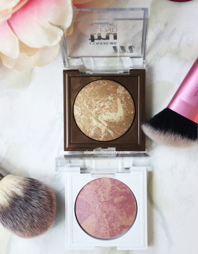 CoverGirl is on a roll with these Spring 2016 releases. Click through to see swatches of the gorgeous TruBlend Blush and TruBlend Bronzer.