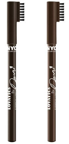 Lovatics by Demi Eyebrow Liner - Click through to see the rest of the new Lovatics by Demi Lovato makeup collection for NYC New York Color, coming this Spring!