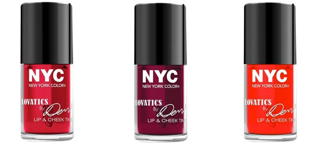 Lovatics by Demi Lip and Cheek Tint - Click through to see the rest of the new Lovatics by Demi Lovato makeup collection for NYC New York Color, coming this Spring!