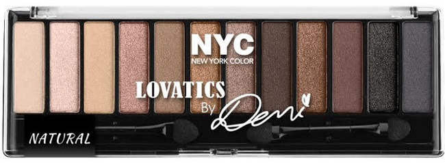 Lovatics by Demi Eyeshadow Palette in Natural - Click through to see the rest of the new Lovatics by Demi Lovato makeup collection for NYC New York Color, coming this Spring!