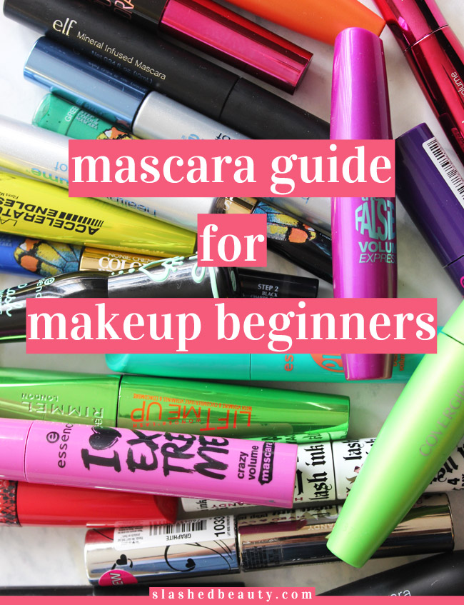 Learn the basics of the world of mascara in this Mascara Guide for Makeup Beginners. BONUS: Download the Ultimate Drugstore Mascara Guide to compare 40+ mascaras side-by-side.