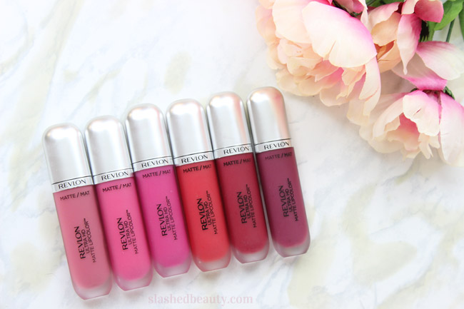 See swatches of six of the Revlon Ultra HD Matte Lipcolors to see how crazy gorgeous each and every color is, plus a full review.