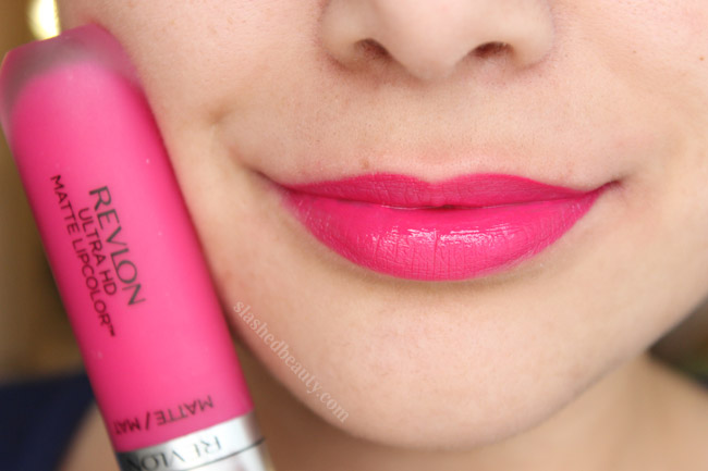 Revlon Ultra HD Matte Lipcolor in Obsession - Click through to read a full review and see five other shades swatched!