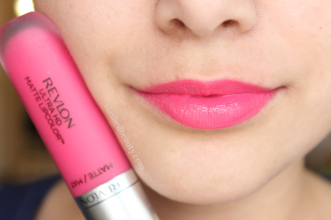 Revlon Ultra HD Matte Lipcolor in Temptation - Click through to read a full review and see five other shades swatched!