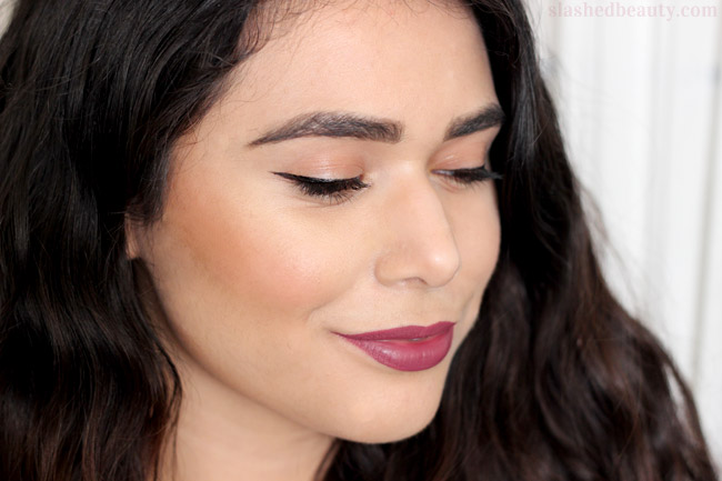 Check out how well the e.l.f. Cream Contour Palette works, plus swatches!   Slashed Beauty
