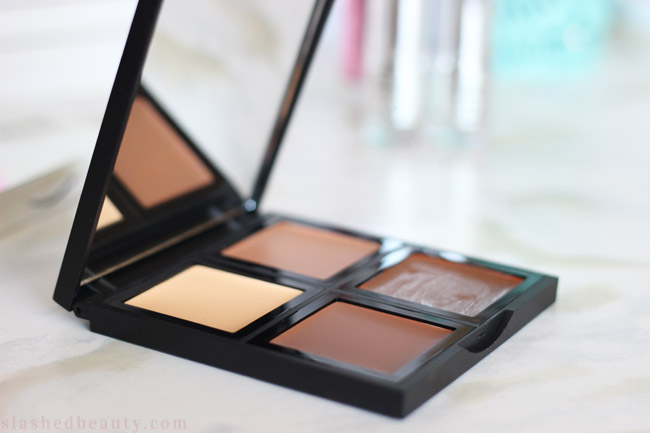 Check out how well the e.l.f. Cream Contour Palette works, plus swatches! | Slashed Beauty