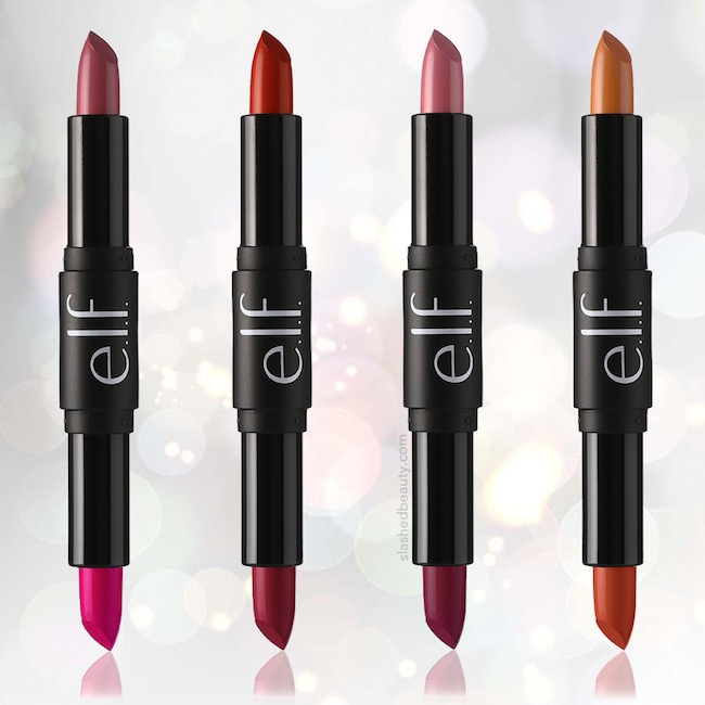 e.l.f. just released their new Day to Night Lipstick Duos that have two shades in one to switch up your look on the go! | Slashed Beauty