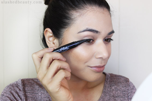 You don't have to reserve smoky eyes for special occasions. Get an everyday smoky eye in under 10 minutes with only 3 eye products! Click through for the full tutorial. | Slashed Beauty