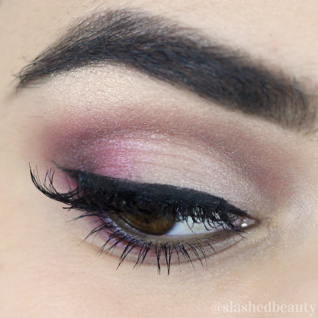 Click through for the product details and video tutorial for this romantic Valentine's Day makeup | Slashed Beauty