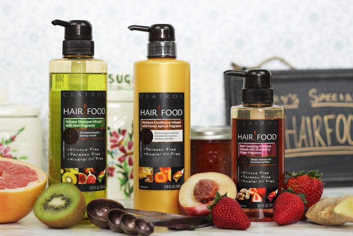 Check out the Hair Food hair care line from Target, made with delicious good-for-you ingredients. | Slashed Beauty