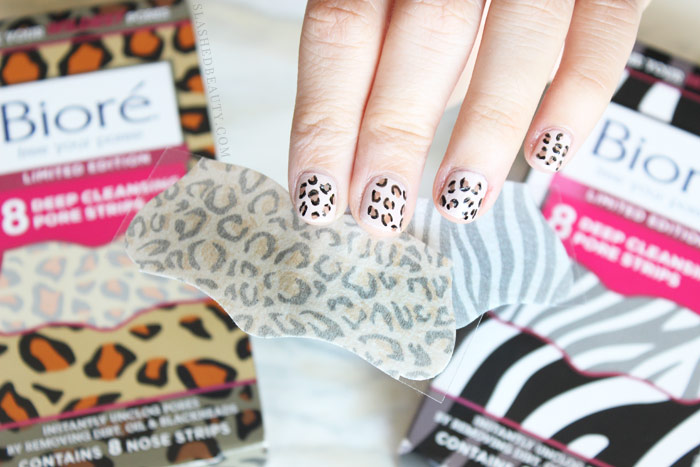 See the step by step tutorial to recreate this easy cheetah print nail art at home! | Slashed Beauty