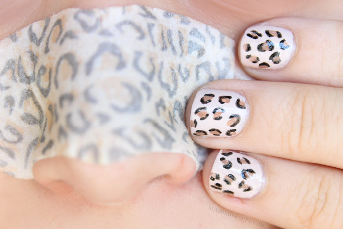 Easy Cheetah Print Nail Art Tutorial Slashed Beauty