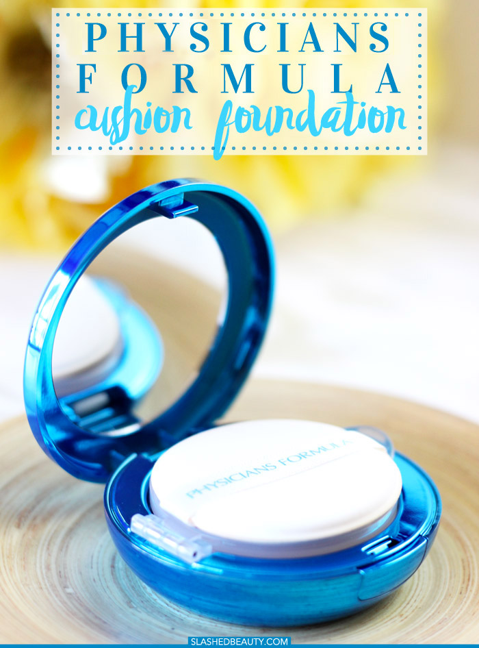 The Physicians Formula Cushion Foundation might be your new favorite lightweight foundation... or not. Read the post to find out if it would work for you! | Slashed Beauty
