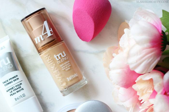 Get a flawless face with this easy three-step foundation routine. Plus, get 20% off all of the products! | Slashed Beauty