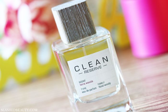 Check out these three spring fragrances to find one that fits your mood this season, featuring CLEAN Reserve Terra Woods! | Slashed Beauty