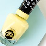 5 Pastel Drugstore Nail Polishes You Need Right Now: Sally Hansen Miracle Gel Lemon Haven