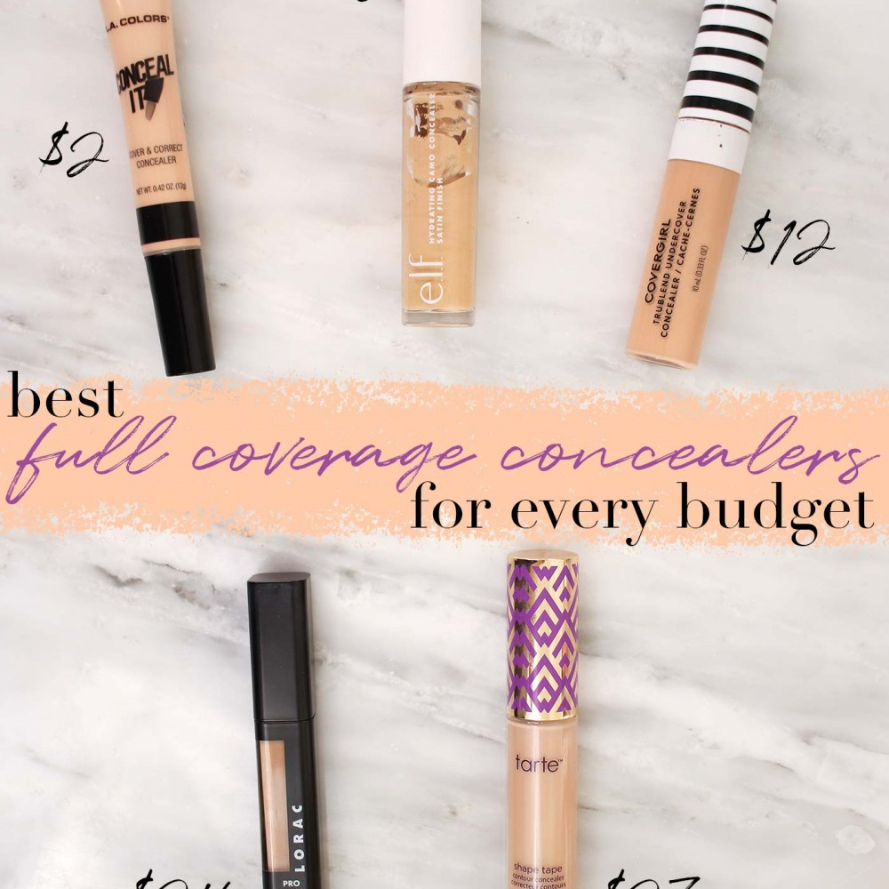 The 5 Best Full Coverage Concealers for Every Budget