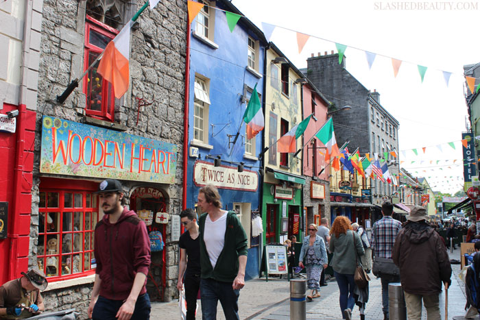 See what my favorite parts of Ireland were during my trip last week, the castle we stayed in, and my fashion must-haves for traveling. | Slashed Beauty