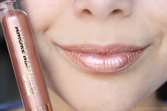 How to Make Metallic Lipstick Look Better. | Slashed Beauty