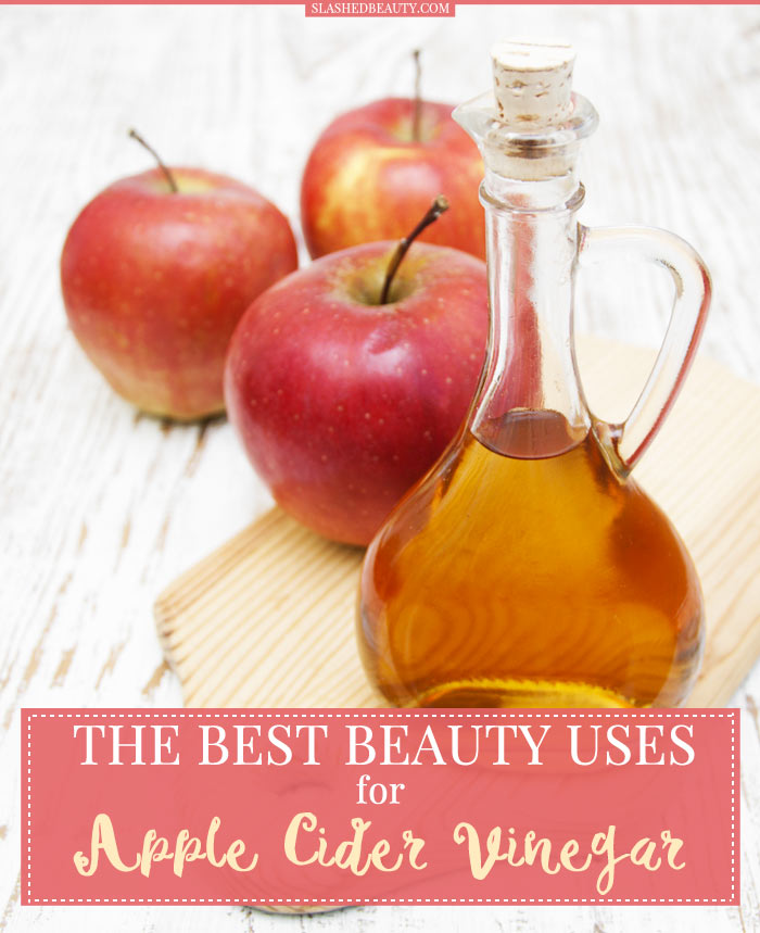 Find out what beauty uses for apple cider vinegar you can work into your routine today! | Slashed Beauty