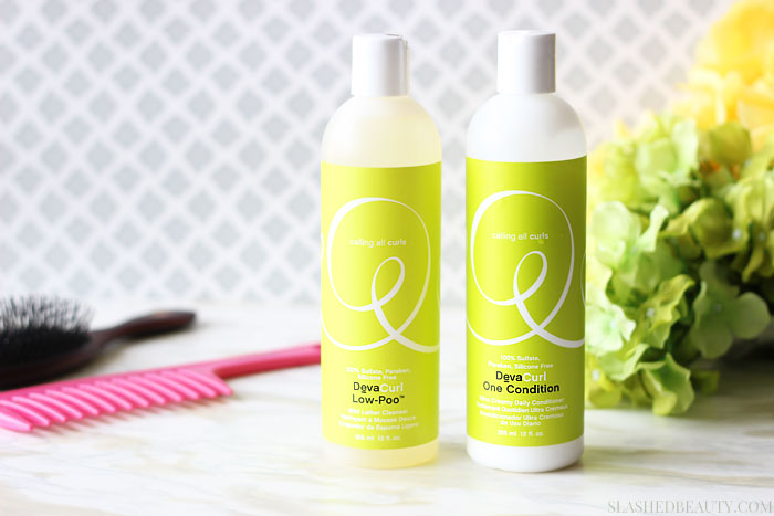 DevaCurl is designed to treat curls and waves with the special TLC they need! Check out what it did for my hair, and how my hair looks naturally after using the system. | Slashed Beauty