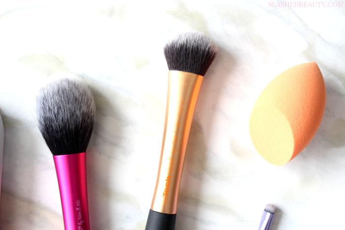 Find out what the best brushes from Real Techniques are after five years of popular releases! | Slashed Beauty