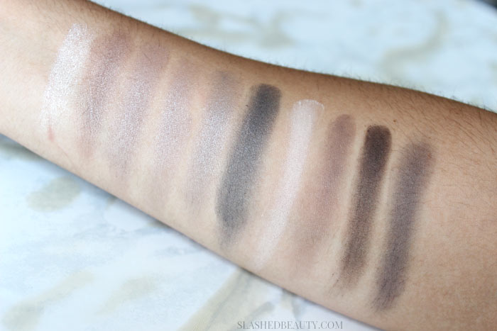 Jesse's Girl Back Stage Collection Eyeshadow Palette in Sounds of the City - See why you've gotta pick them up NOW?! | Slashed Beauty