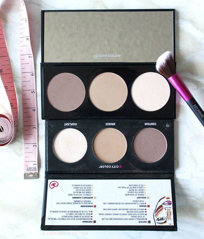 Check out what's new with the City Color Cosmetics Contour Effects Palettes-- you'