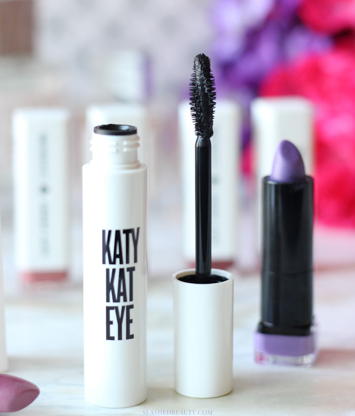 Did the Katy Kat Eye mascara give me the fanned out cat eye look I love? Close, but... | Slashed Beauty