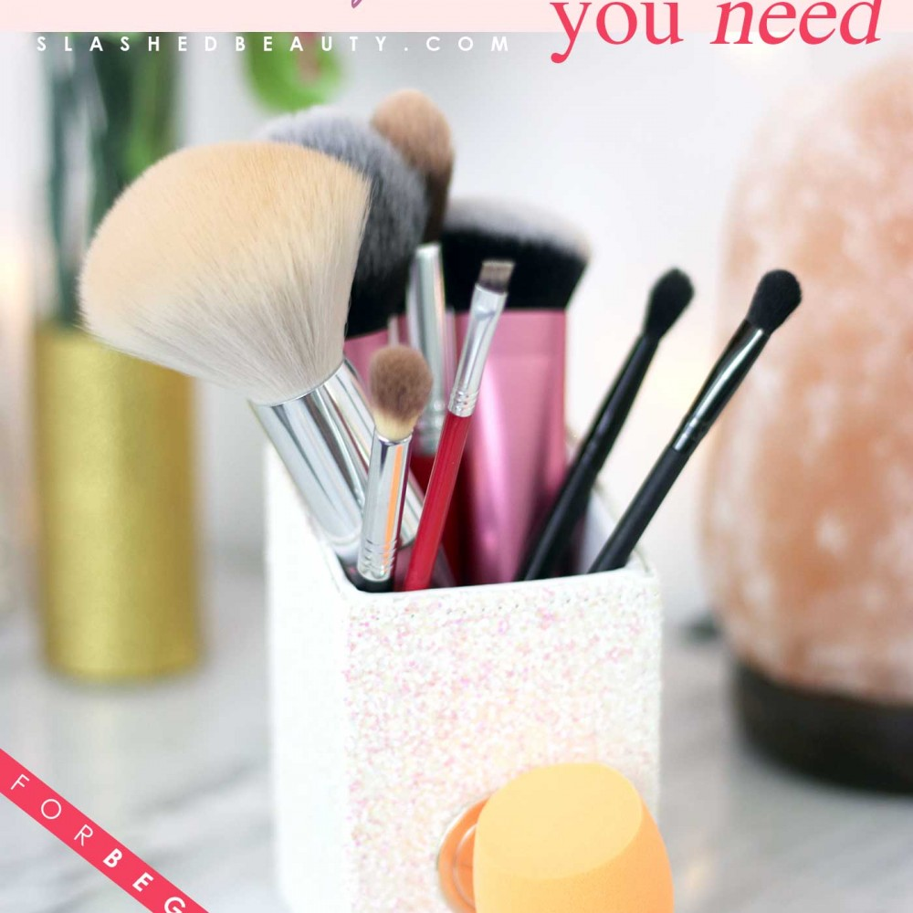 9 Essential Makeup Brushes for Beginners