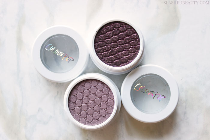 I picked up some of the first releases of the ColourPop 2016 Fall Edit. Check out live swatches! | Slashed Beauty