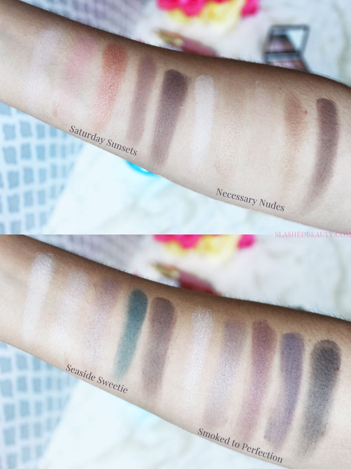 The e.l.f. Clay Eyeshadow Palettes are back in stock and perfect for oily lids-- see which ones to skip and which to grab while they're available! | Slashed Beauty
