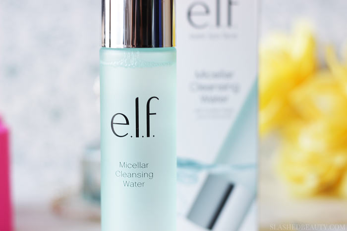 Ready for awesome fall skin? You need the new e.l.f. Micellar Water and Hydrating Water Sheet Mask. Find out why in this review! | Slashed Beauty