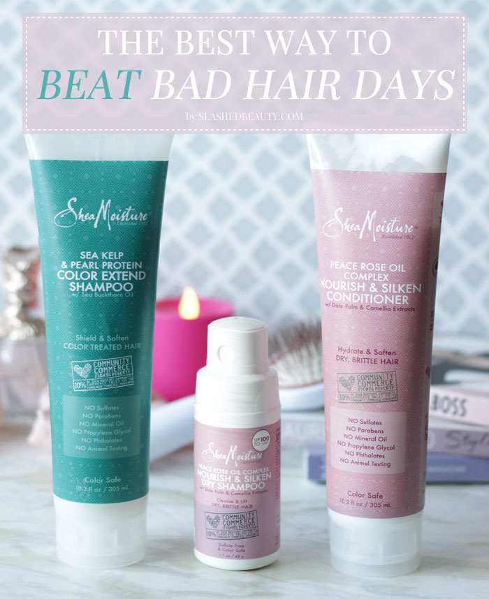 Check my tips on how to prevent bad hair days with the right products and routine! | Slashed Beauty