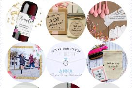 These cute bridesmaid box proposal ideas are unique, making them special ways to ask your best friends to be in your bridal party.