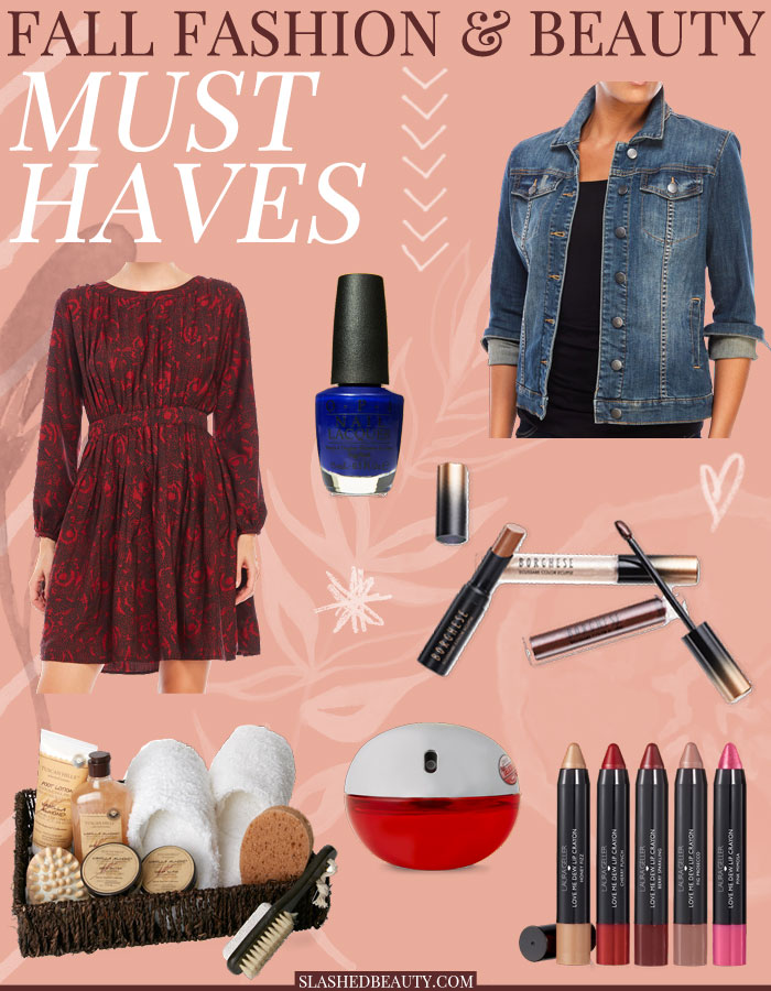 Some of my fall fashion and beauty must haves that are staples in my look this season! | Slashed Beauty