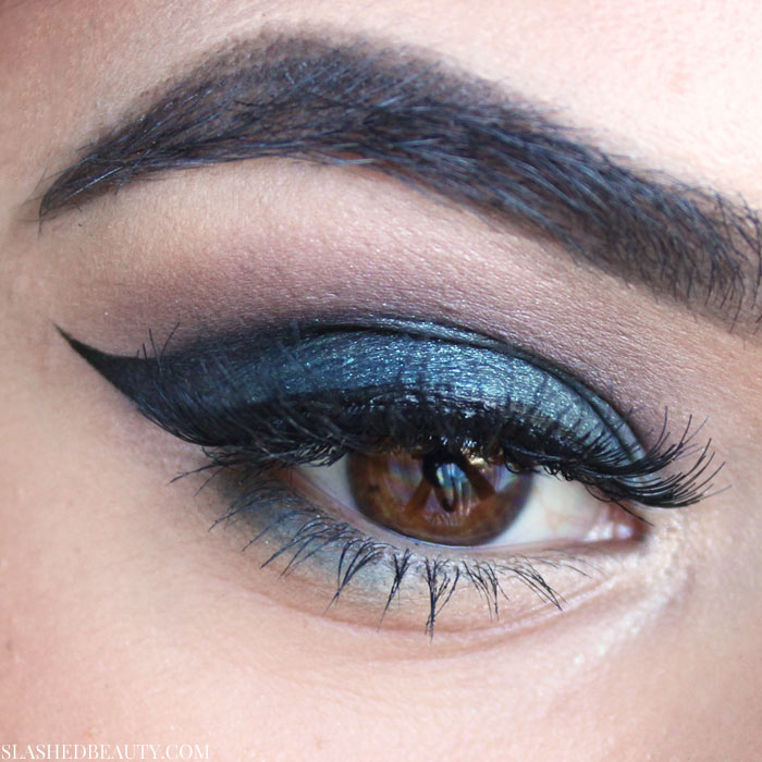 Using the Kiko Milano Water Eyeshadow in 213 on the lid. See swatches and read the full review. | Slashed Beauty
