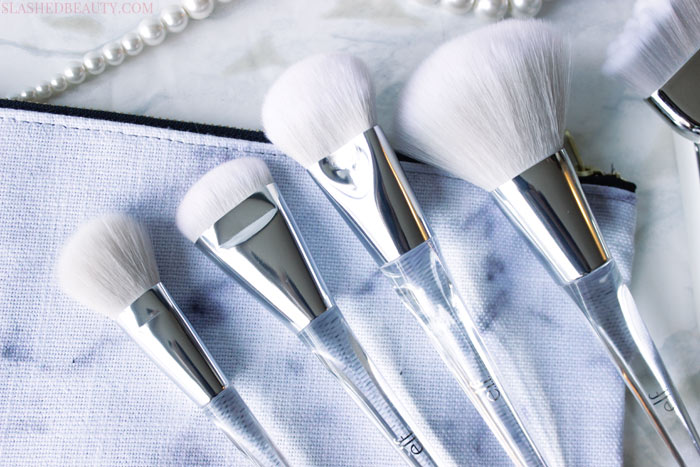 REVIEW: Check out the full e.l.f. Beautifully Precise brush collection, their newest fall launch that will elevate your makeup game. | Slashed Beauty