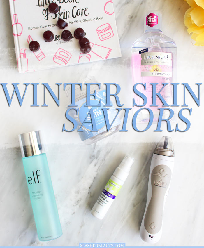 These five skin care products for winter will help you glow all season long with healthy skin. | Slashed Beauty