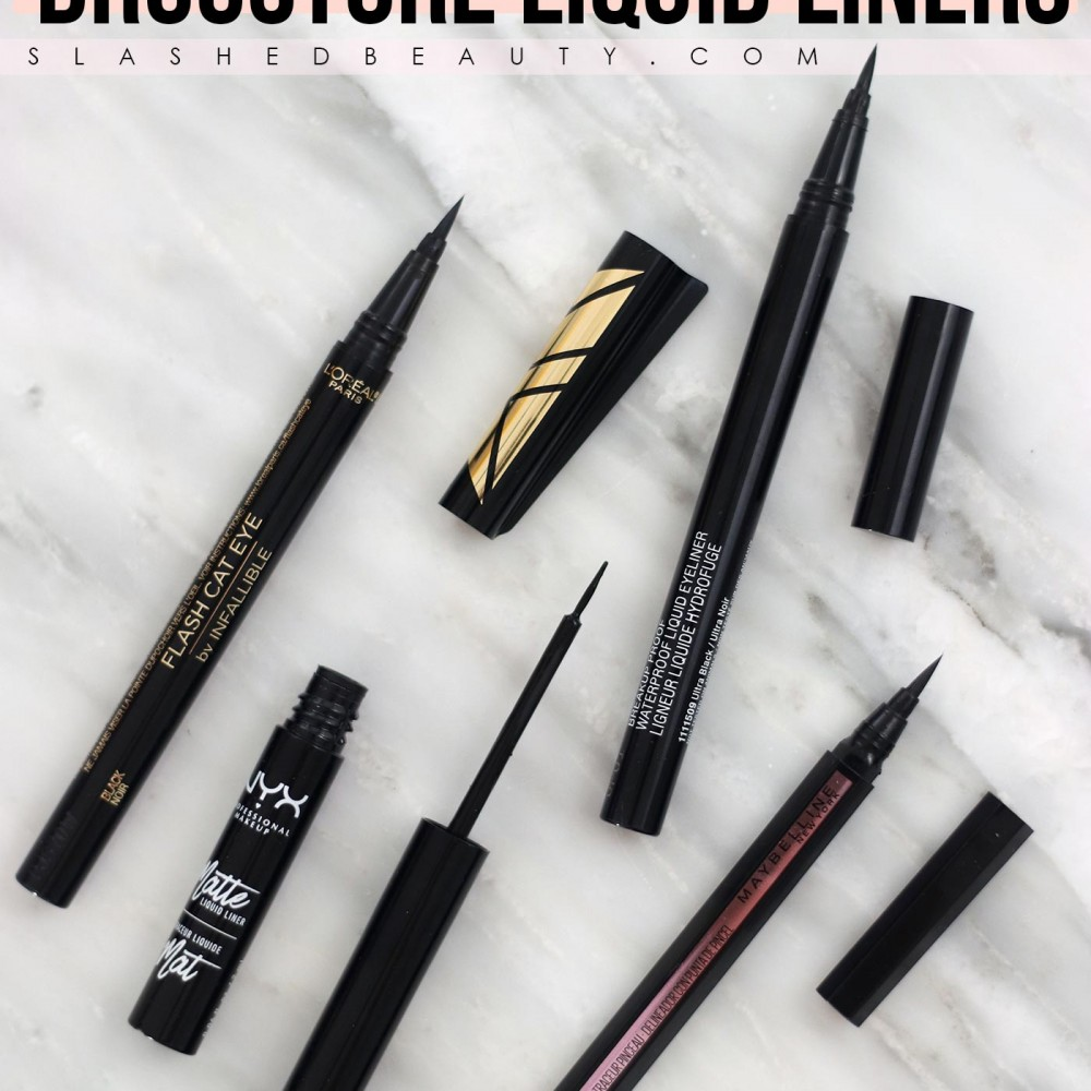 The 4 Best Drugstore Liquid Eyeliners