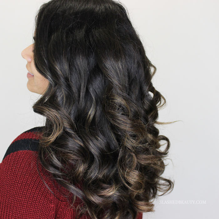 Check out why I threw out my traditional curling iron for the Kiss Instawave! | Slashed Beauty