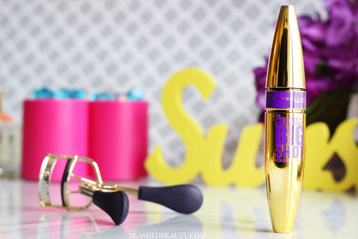 Why did I change my mind about Maybelline The Colossal Big Shot Mascara? Find out, plus see a before & after! | Slashed Beauty
