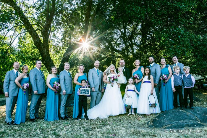Check out these shots from real rustic, woodsy weddings to inspire your big day! Photo by California mountain wedding photographer Michael J Costa | Slashed Beauty
