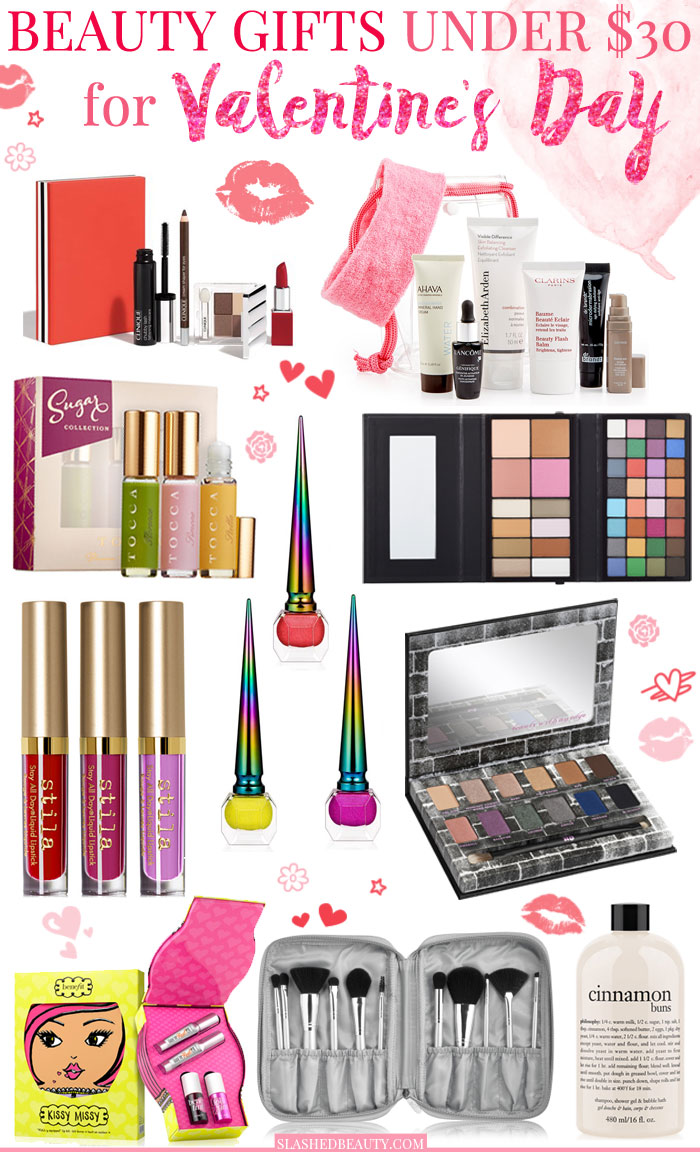 These Valentine's Day beauty gifts under $30 will impress and show you care without breaking the bank for your beauty lover.
