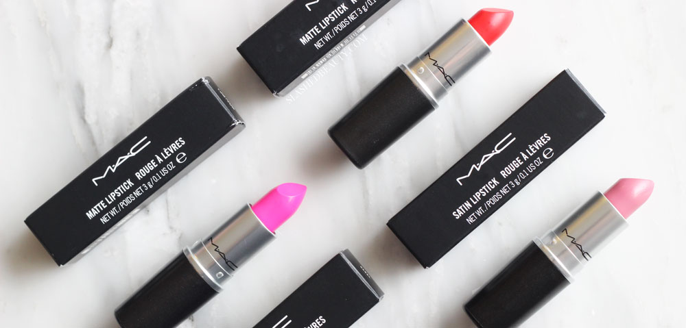 These four classic MAC lipsticks are perfect for making a statement every season. See swatches and which must-have shades to pick up.