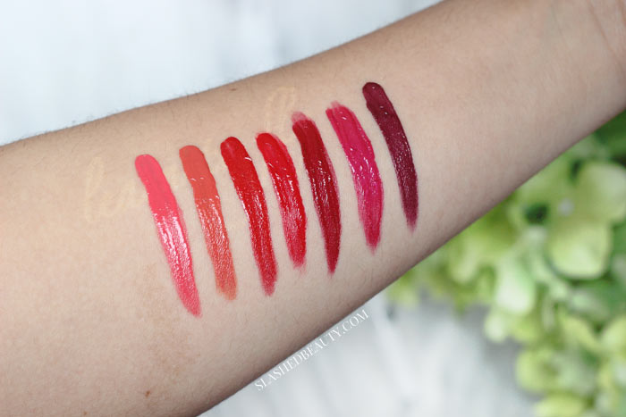See what the hype is about surrounding the CoverGirl Outlast All Day Custom Reds Lip color. See swatches of all shades, and a demo showing wear time.